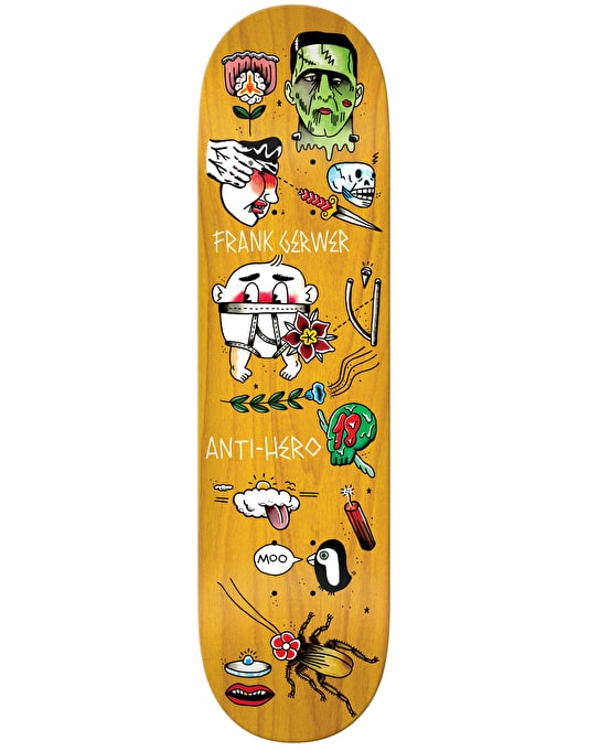 Anti Hero Gerwer Grape Dope Skateboard Deck - 8.4""