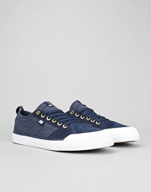 DC Evan Smith S Skate Shoes - Navy/DK Chocolate
