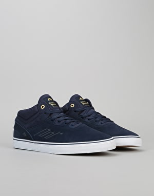 Emerica Westgate Mid Vulc Skate Shoes - Navy