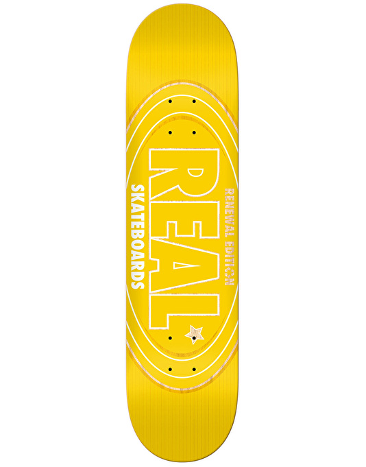 Real Renewal Oval Team Deck - 8.06""