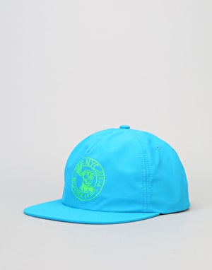HUF x Skate NYC Address Snapback Cap - Royal