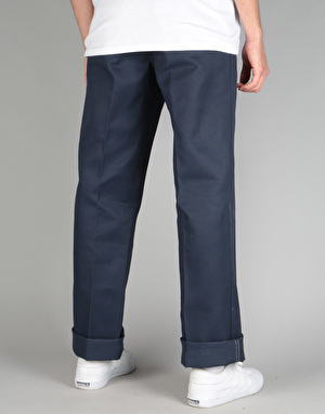 Ben Davis Trim Fit Work Pants - Navy