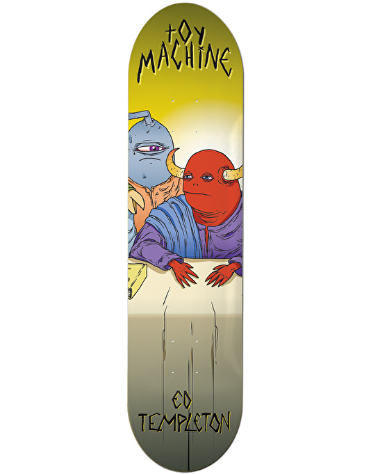 Toy Machine Templeton Last Supper Skateboard Deck - 8.375""