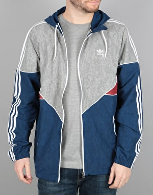 Adidas Colorado Nautical Jacket - Mystery Blue/ Red/Solid Grey/White