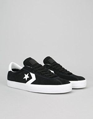 Converse Break Point Skate Shoes - Black/White
