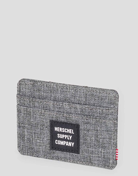 Herschel Supply Co. Felix Card Holder - Raven Crosshatch