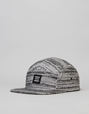 Herschel Supply Co. Glendale 5 Panel Cap - White Noise