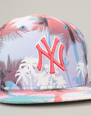 New Era 9Fifty MLB New York Yankees Miami Vibe Snapback Cap - Multi