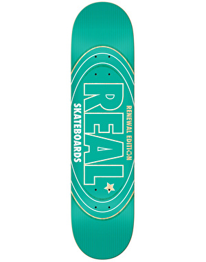 Real Renewal Oval Team Deck - 8.06