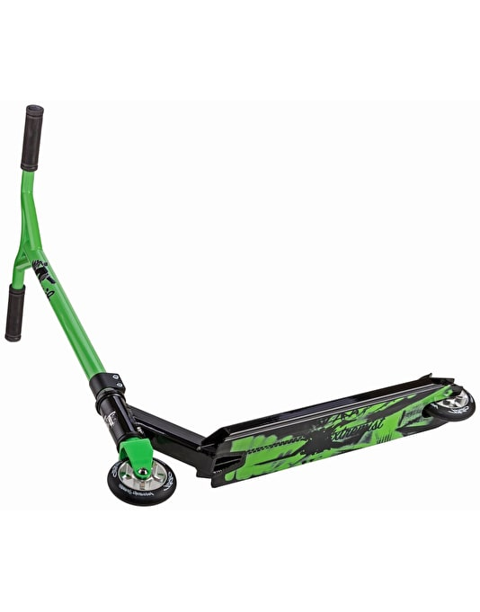 Grit Extremist 2017 Scooter - Black/Green