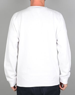 Stüssy Burly Threads Crew - White
