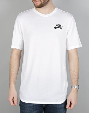 Nike SB Dry Skyline T-Shirt - White/Black