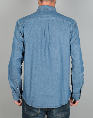 Levi's Skateboarding Riveter L/S Shirt - Chambray