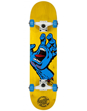 Santa Cruz Screaming Hand Complete Skateboard - 7.5