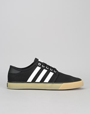 Adidas Seeley Decon Skate Shoes - Black/White/Gum