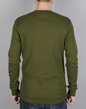 Nike SB Long-Sleeve Thermal T-Shirt - Legion Green/Dark Grey