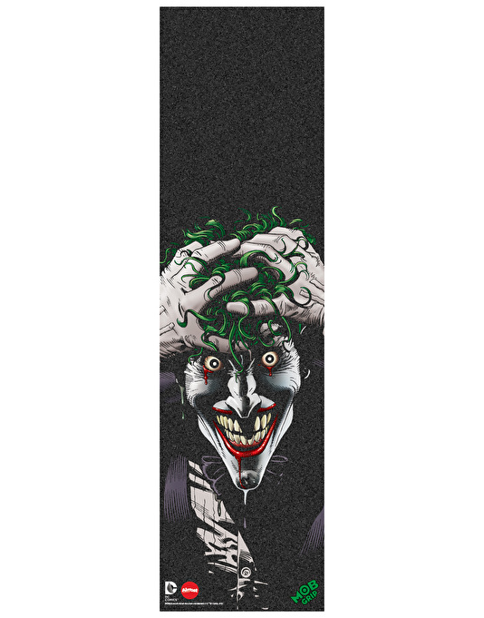 "Almost x DC Comics x MOB Joker Hahaha 9.25"" Grip Tape Sheet"