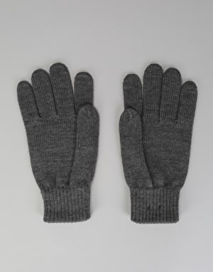 Carhartt Military Gloves - Dark Grey Heather