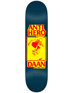 Anti Hero Daan Lance II Pro Deck - 8.12