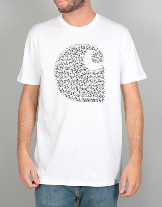 Carhartt Duck Swarm T-Shirt - White