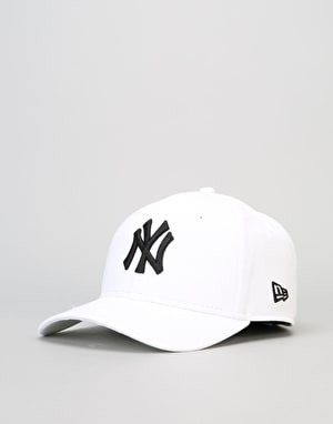 New Era 9Forty MLB New York Yankees Cap - White/Black