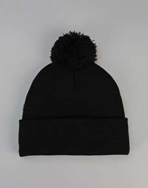 Route One Digital Bobble Beanie - Black