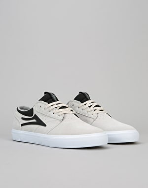 Lakai Griffin Skate Shoes - White Suede