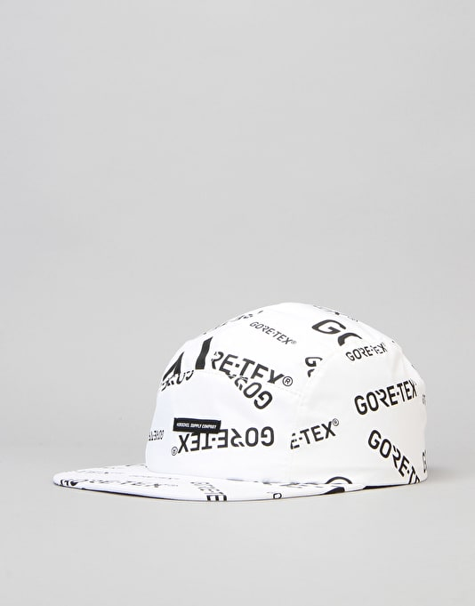 Herschel Supply Co. Glendale Gore-Tex 5 Panel Cap - White/Black