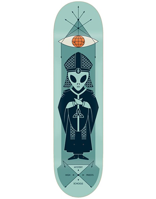 Alien Workshop High Priest Scholar Skateboard Deck - 8""