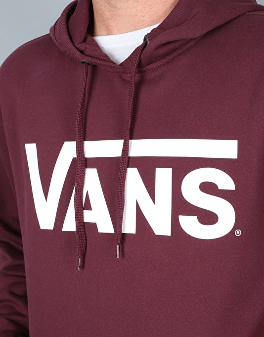 Vans Classic Pullover Hoodie - Port Royale-White