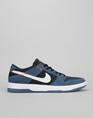 Nike SB Zoom Dunk Low Elite Malto QS Skate Shoes - Midnight Navy