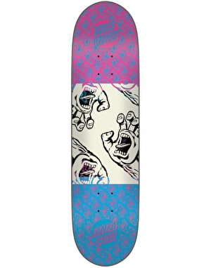 Santa Cruz Many Hands Twin Tip Team Deck - 8.25