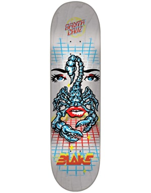Santa Cruz Johnson Danger Zone Pro Deck - 8.375