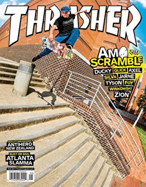 Thrasher Magazine Issue 445 August 2017