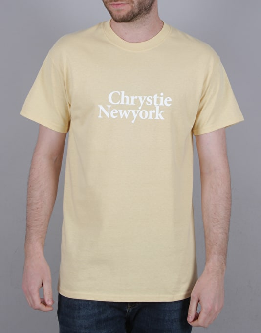 Chrystie Minion Logo T-Shirt - Banana