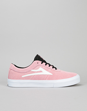 Lakai Sheffield Skate Shoes - Pink Suede