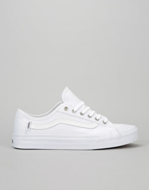 Vans Black Ball SF Skate Shoes - White/White