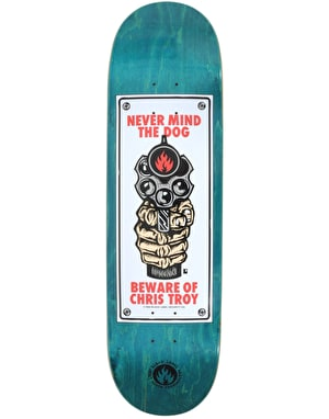 Black Label Troy Beware Pro Deck - 8.5