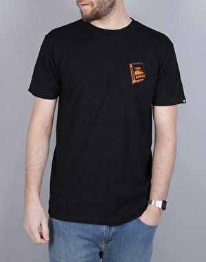 Etnies Match Book T-Shirt - Black