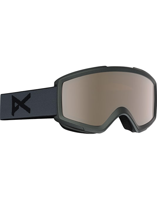 Anon Helix 2.0 2017 Snowboard Goggles - Stealth/Silver Amber