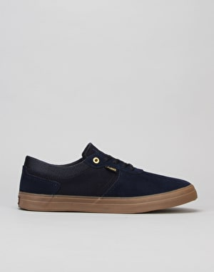 DVS Merced Skate Shoes - Navy Gum Suede