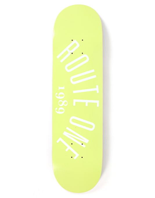 Route One Arch Logo Team Deck - 8.125""