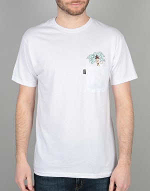 RIPNDIP Nermal Leaf Pocket T-Shirt - White
