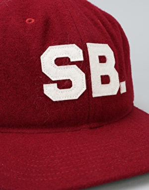 Nike SB Infield Pro Strapback Cap - Team Red/Pine Green/Black/Sail