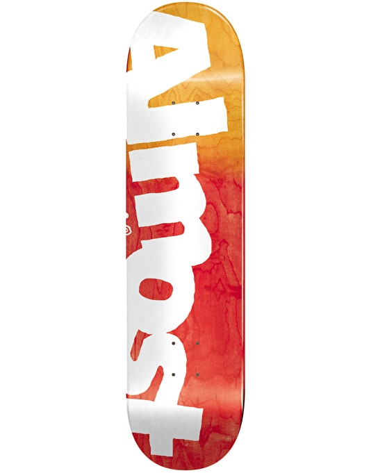 Almost Side Pipe Skateboard Deck - 8.25""