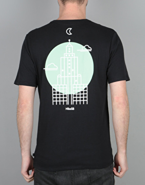 Nike SB DF Skyscraper T-Shirt - Black/White
