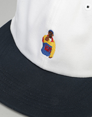 Acapulco Gold Chef 6 Panel Cap - White