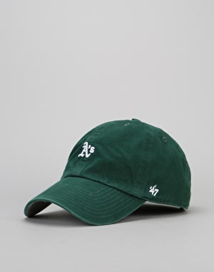 '47 Brand MLB Atlanta Braves Abate Clean Up Cap - Dark Green