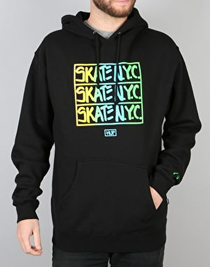 HUF x Skate NYC Hooded Fleece - Black
