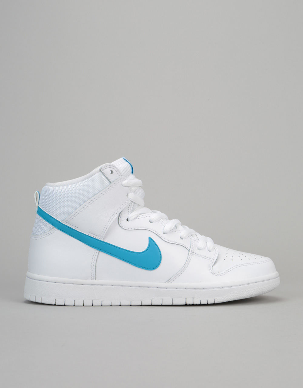 955f018d96aaf2 Nike SB Dunk High TRD QS Skate Shoes - White Orion Blue-White ...